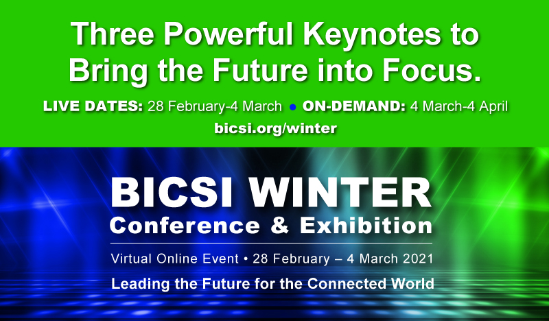 2021 BICSI Winter Virtual Conference & Exhibition